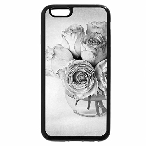 iPhone 6S Plus Case, iPhone 6 Plus Case (Black & White) - .:Roses:.