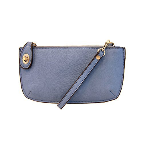 Joy Susan Mini Crossbody Wristlet Clutch - Chambray