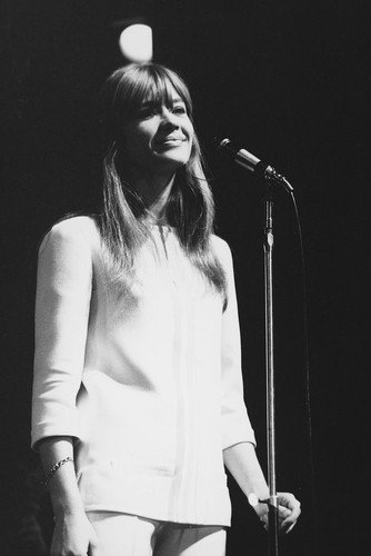 Françoise Hardy 24x36 Poster classic 1960's in concert (Best Of Francoise Hardy)