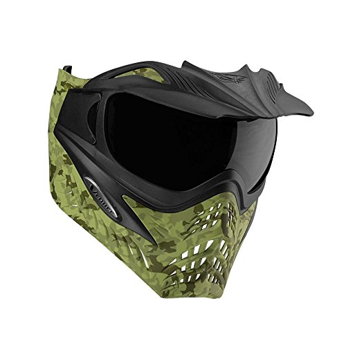 G.I. Sportz VForce Grill Paintball Mask / Thermal Goggles (Jungle Camo Green)