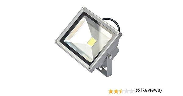 MWS - Foco LED IP66 de alta luminosidad con luz blanca y fría ...
