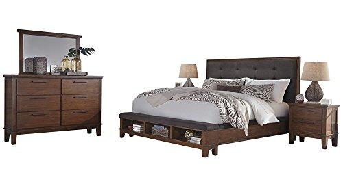 Amazon.com: Ashley Ralene 5PC Bedroom Set Queen