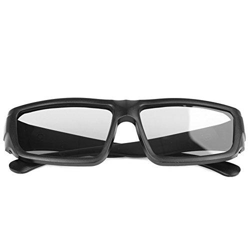 Usdepant Polarized Passive 3D Glasses Black H4 for TV Movie