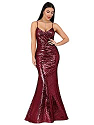 Sequin Evening Formal Gown