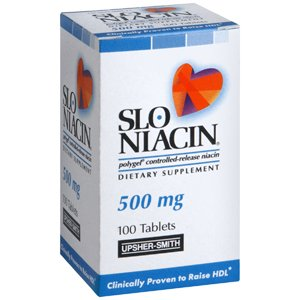 PACK OF 3 EACH SLO-NIACIN TAB 500MG 100TB PT#245006311 by Marble Medical