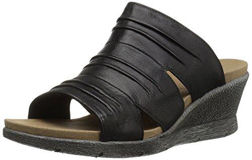 Black Wedge 02 Sandal ROMIKA Women's Nevis WvqfxA86