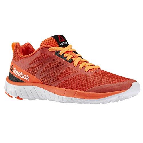 Reebok Soquick Zapatillas de deporte, Niñas Naranja / Rojo / Blanco / Negro (Elctrc Peach/Atomc Red/Enrgy Orng/Wht/Bl)