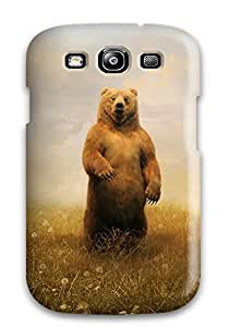 Fashionable Style Case Cover Skin For Galaxy S3- Bear