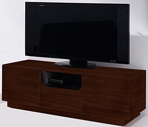Mueble para televisor madera de Wengué, tamaño: H42,5 x P45,6 ...