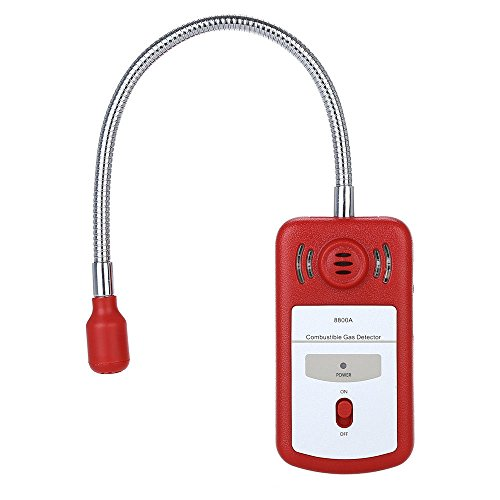 Gas Leak Detector Combustible Sensor Gas Tester with Sound Light Alarm Portable Household