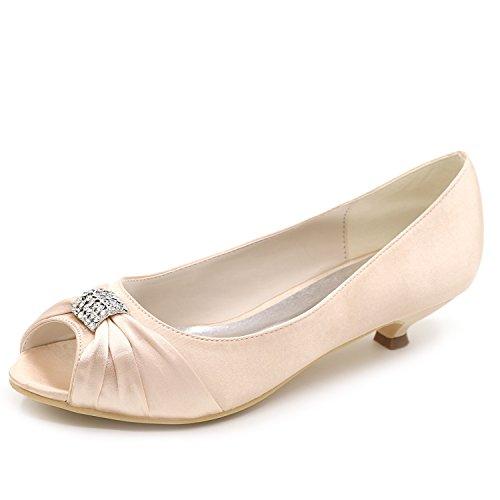 O Elobaby del Las De Oto Boda De Mujeres Partido De Sat Zapatos del Rvrxw6qR