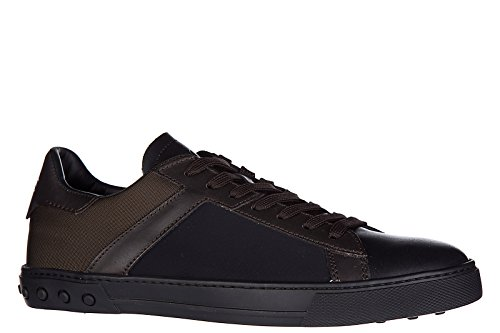 Tod's zapatos zapatillas de deporte hombres en piel nuevo cassetta marrón