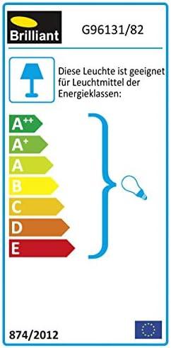 Design Außen Wand Strahler Leuchte Beleuchtung Bewegungsmelder Brilliant BOLE G96131/82