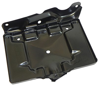- (G-10-12) 1964-65 Chevrolet Chevy A-Body Chevelle El Camino Battery Tray Painted Black NOS