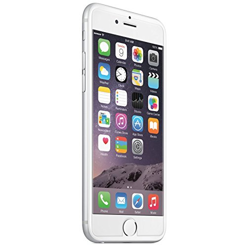 Bumper + Glas Folie für Apple iPhone 6 Plus (5,5 Zoll) Case Tasche Cover Schutztasche Handyhülle Bumper TPU Silikon Acryl Glas Folie klar transparent Gelb