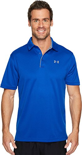 Under Armour Golf Men's Tech Polo Royal/Graphite/Graphite X-Small by Under Armour (Image #3)