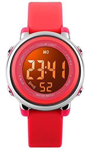 Kids Watch Waterproof Children Electronic Watch – Lighting Sports Watch Waterproof,LED Digital Stopwatch with…