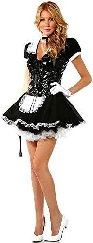 Disfraz de sirena francesa con cordel de PVC para mujer, talla 8 ...