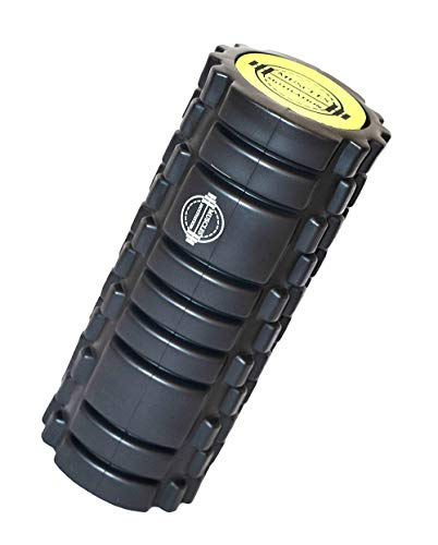 Muscles Motivation Foam Roller - 2 in 1 ABS Heavy Duty With High EVA Massager Plus Small Physical Therapy Exercise Guide Help Men And Women To Trigger Point Deep Tissue - Ideal For Sport And Fitness by Muscles Motivation