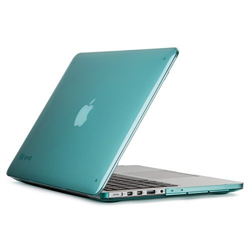 - Speck Products SmartShell Case for MacBook Pro 13-Inch with Retina Display, Mykonos Blue