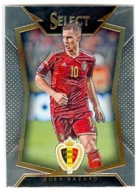 PANINI SELECT Soccer 2015 BASE CARD #84 Eden Hazard-Belgique
