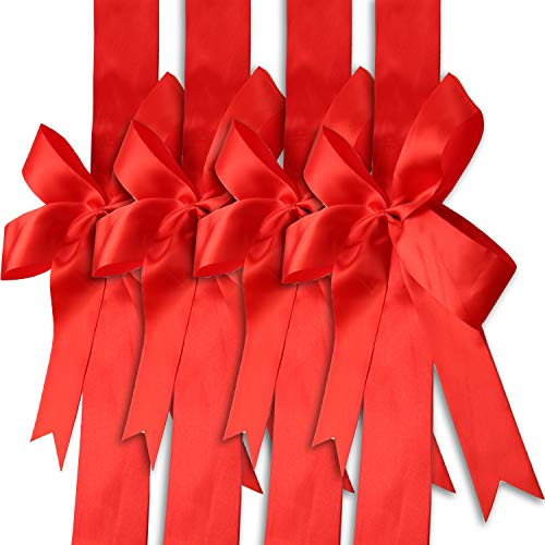 Kitchen Cabinet Door Festive Ribbons and Bows Decoration - Set, 4 Pc