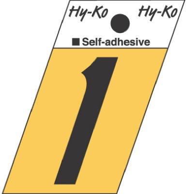 Hy-Ko GR-10/1 1.5'' Black Aluminum Angle Cut Number 1