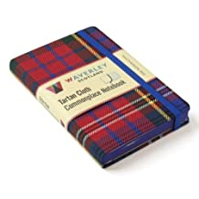 Scottish Tartan Notebook - MacPherson Red