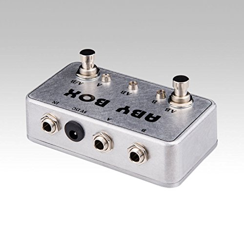 New Hand made ABY Switch Box For Effects Pedal-TRUE BYPASS- Amp/guitar AB by LANDTONE