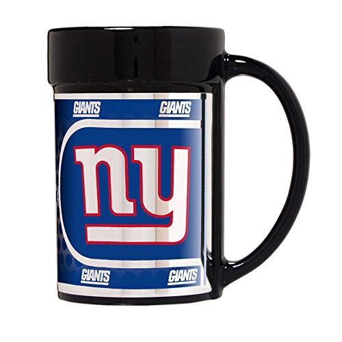 New York Giants 15 oz Ceramic Coffee Mug with Metallic Graphics