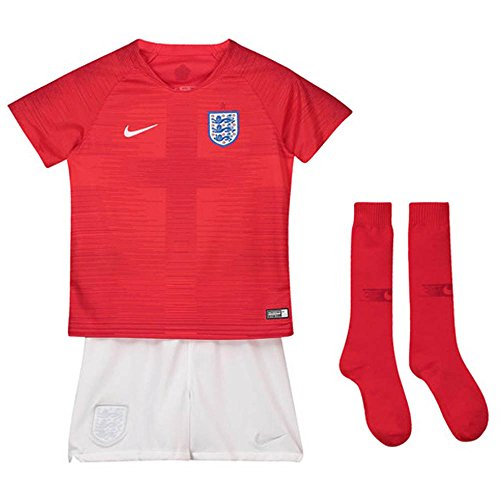 統計的浸漬取得する2018-2019 England Away Nike Mini Kit