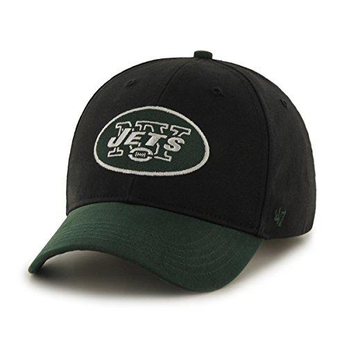 NFL New York Jets Kids Short Stack '47 MVP Adjustable Hat, Infant, Black