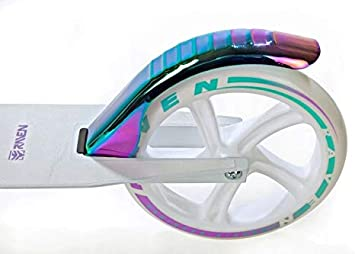Roller Scooter Kickroller Cityroller Raven Celia Neochrome 200mm mit Handbremse