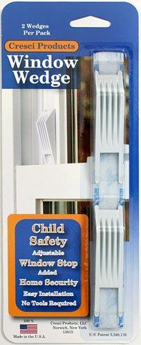 4 Total Window Wedges - Adjustable Window Stop - - 4 total by Cresci
