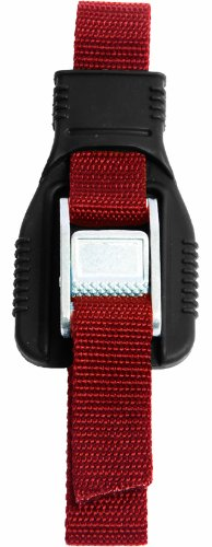 Seattle Sports Over-The-Hull Strap (Red, 1-Inch x 9-Feet)