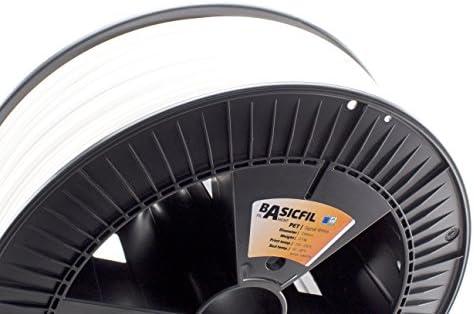 BASICFIL PET 2.85mm, 2.3 kg filamento de impresión 3D, Blanco ...