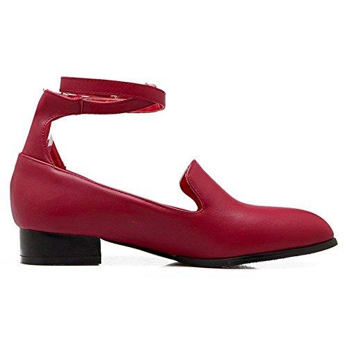 Red Pumps Donna Zanpa Classico Flat 4q77YT