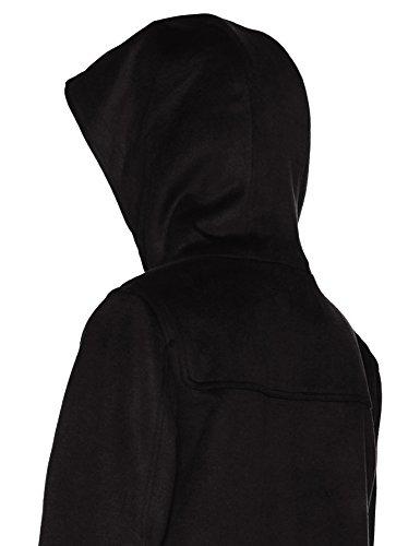 Aliona Cappotto black Nero Donna Khujo 200 Sq5xd6nSH