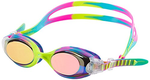 Speedo Hydrosity Mirrored Swim Goggle, Keylime, One ()