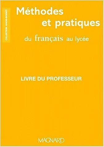 Francais 2nde Professeur Amazon Fr Amon Livres