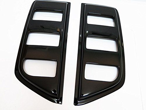 Nissan Navara D40 Accessories (Side Vent Window Sun Visor Sheild Guard Moulding for Nissan Navara D40 Ute 05-14)