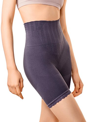 f9e40ca1f1f1d MD Women s Firm Shapewear Mid-Thigh High Waist Tummy Shaper Slimmer Power  Shorts