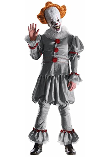 Grand Heritage Pennywise Movie Adult Costume (Pennywise Costumes)
