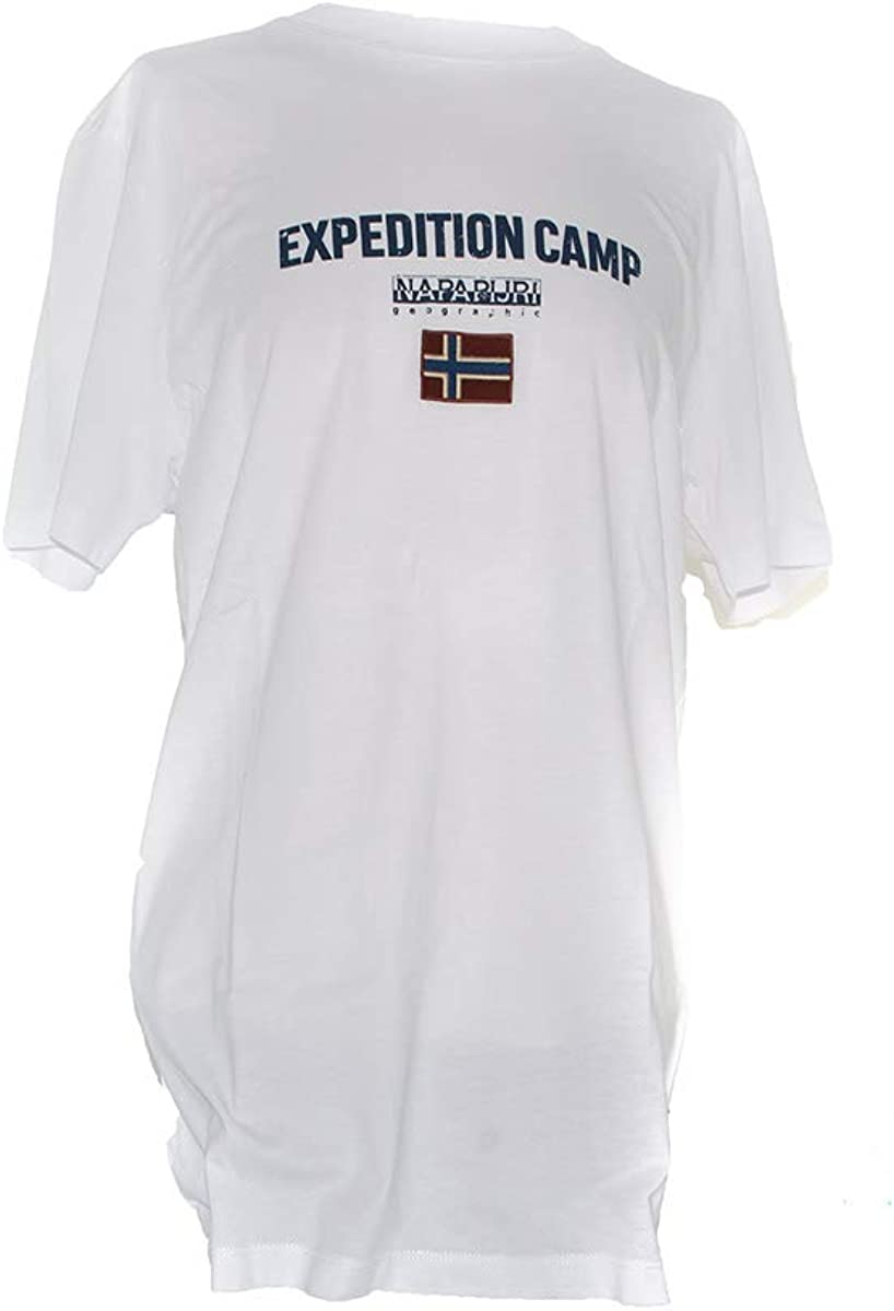 Napapijri Sonthe Bright White Camiseta para Hombre: Amazon.es: Ropa y accesorios