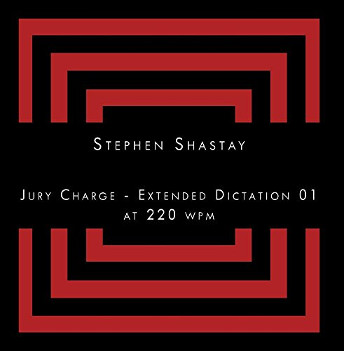 Jury Charge - Extended Dictation 01 at 220 wpm