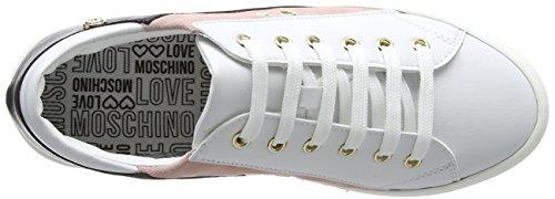 Isla Rsa Bia Moschino Sneakers Ner Basses VIT Femme Scarpad 60 Love Cro qTOEZwx8H