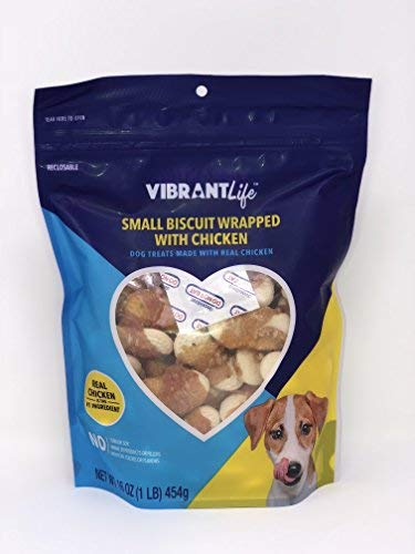 Vibrant Life Small Biscuit Wrapped With Chicken (16 oz) ()