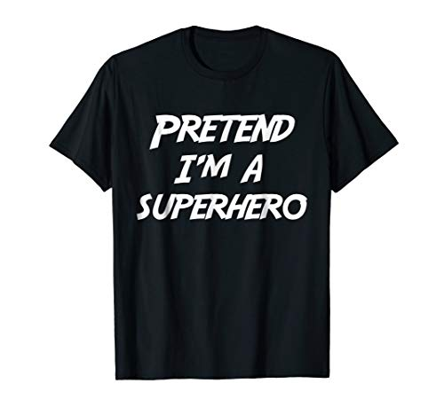 (Pretend I'm A Super Hero Halloween Costume)