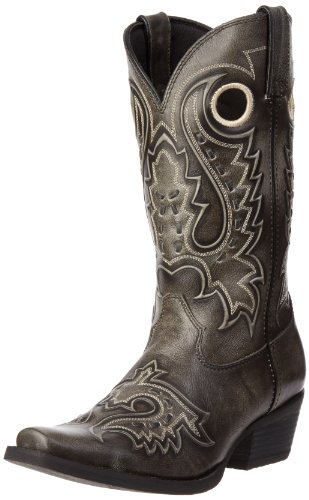 Durango Men's Gambler Boot,Dusk Velocity/Dark Brown,12 M US
