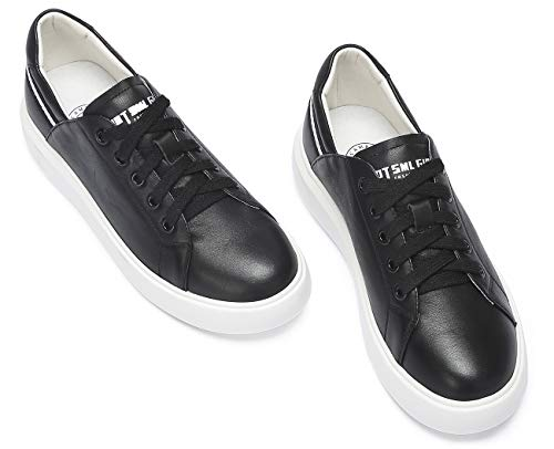 Bande Loisir 40 Casual Lacets Crown Camel Sneakers Blanc Chaussures Classics forme Eu36 Femme Noir Confort Basket Plate À vxCxqpPf